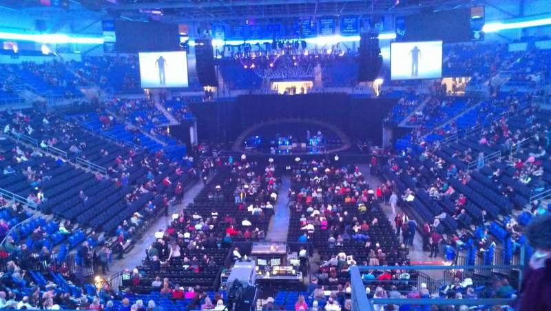 Chaifetz Arena, section: 209, row: D, seat: 4