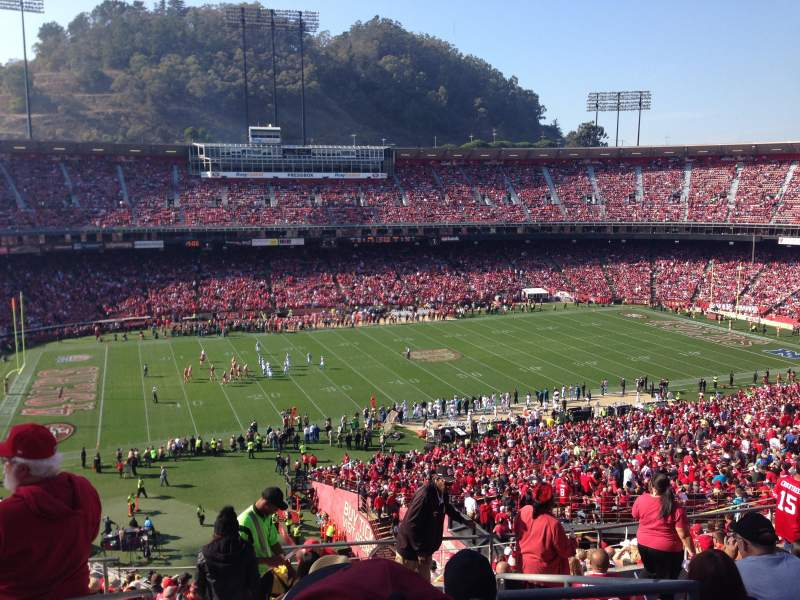 Seating view for Candlestick Park Section 33