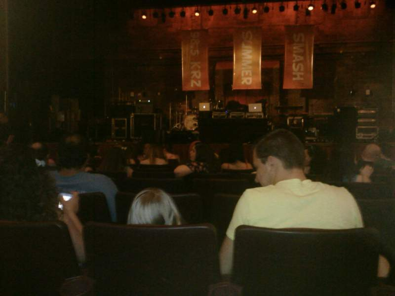 Seating view for F.M. Kirby Center Section Center orchestra Row H Seat 7