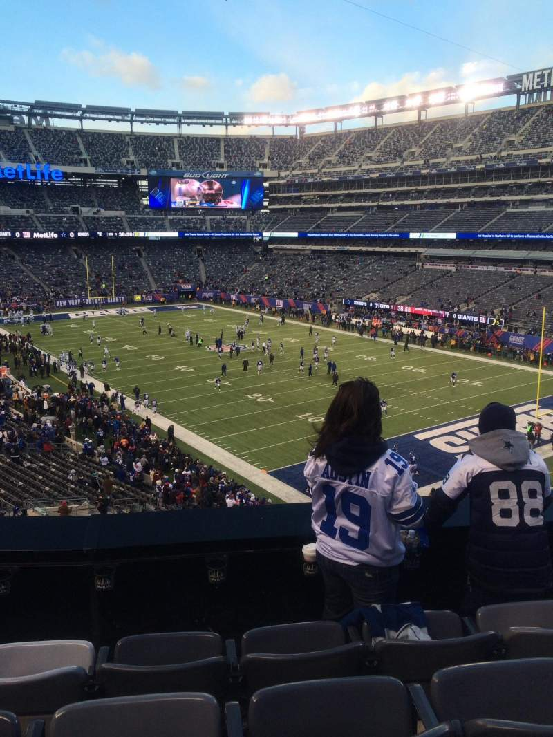 Seating view for MetLife Stadium Section 231a Row 4 Seat 10