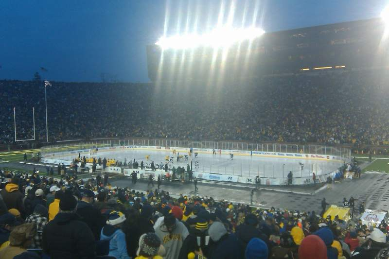 Seating view for Michigan Stadium Section 42 Row 40