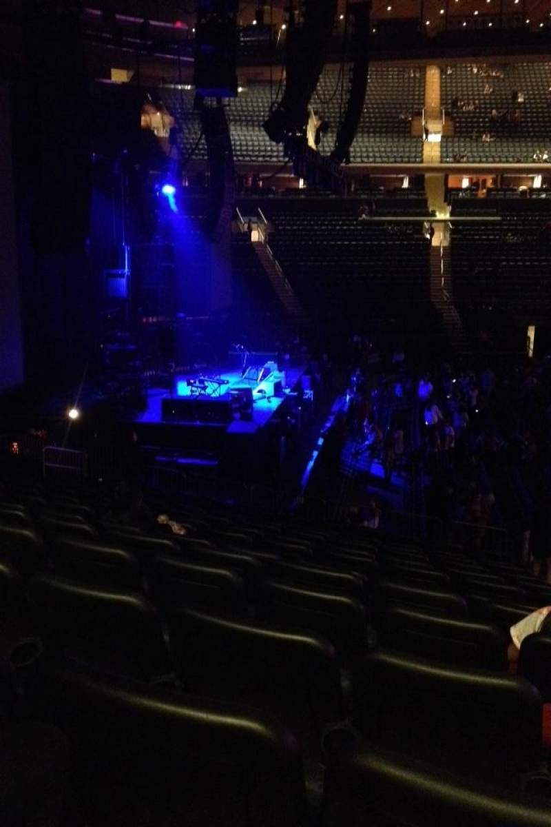 Seating view for Madison Square Garden Section 115 Row 17 Seat 19