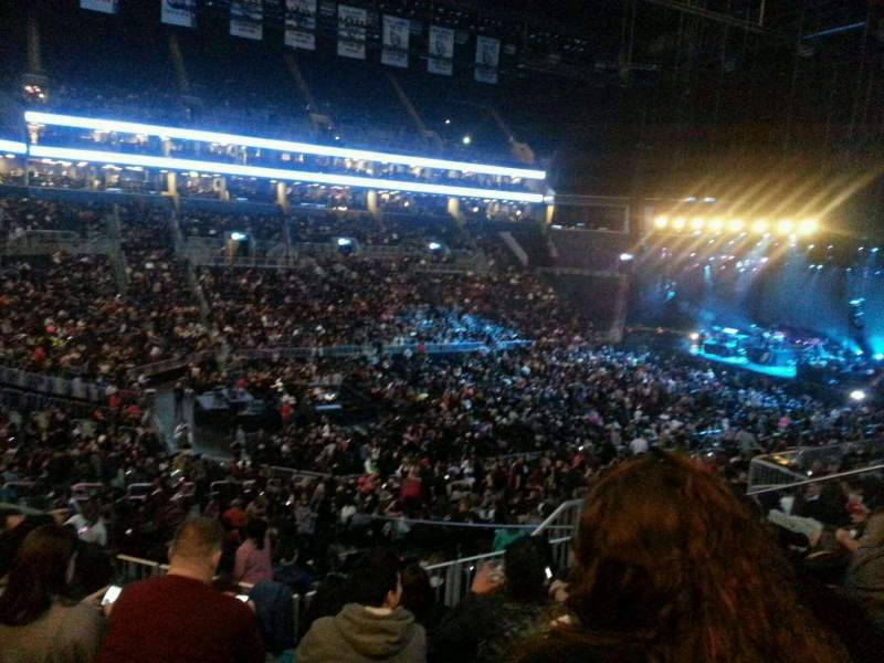 Seating view for Barclays Center Section 111 Row 9 Seat 13