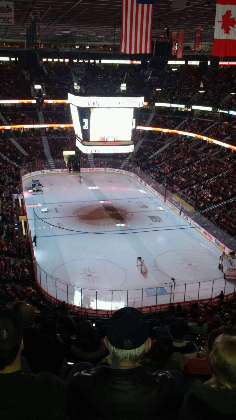 Seating view for Canadian Tire Centre Section 302 Row O Seat 19