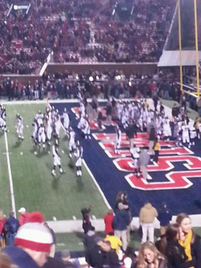 Seating view for Vaught-Hemingway Stadium Section L Row 31 Seat 29