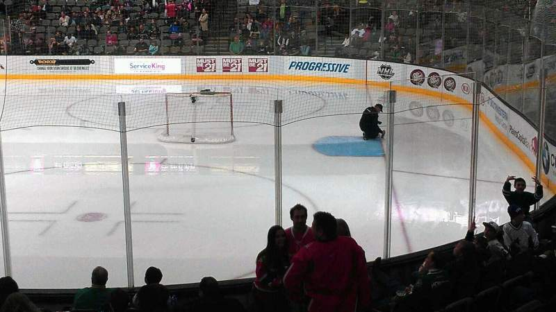 Seating view for American Airlines Center Section 104 Row M Seat 6