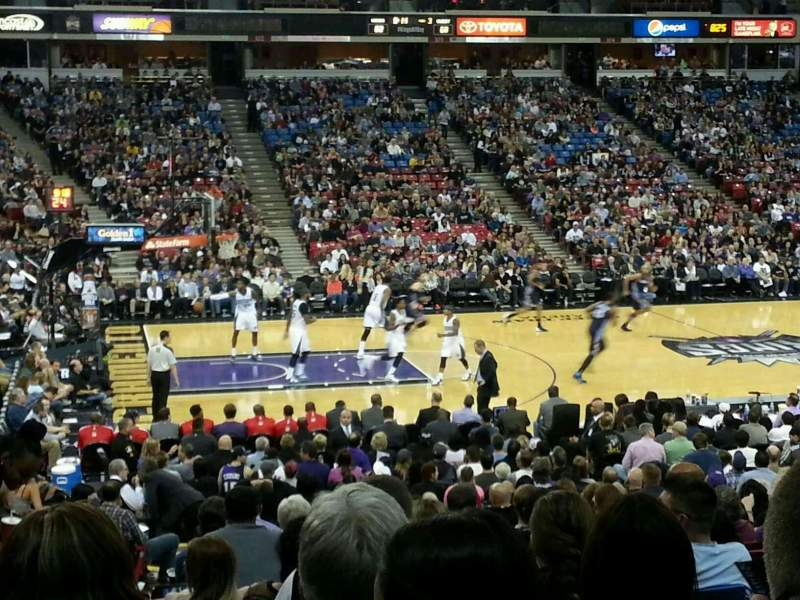 Seating view for Sleep Train Arena Section 116 Row S Seat 12