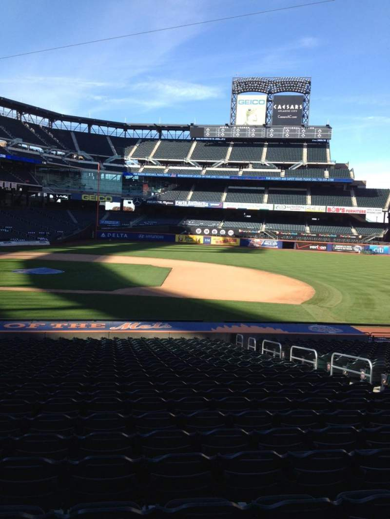 Seating view for Citi Field Section 113 Row 23 Seat 7