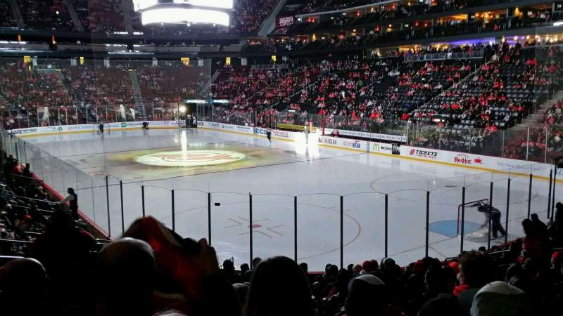 Seating view for Prudential Center Section 1 Row 15 Seat 16