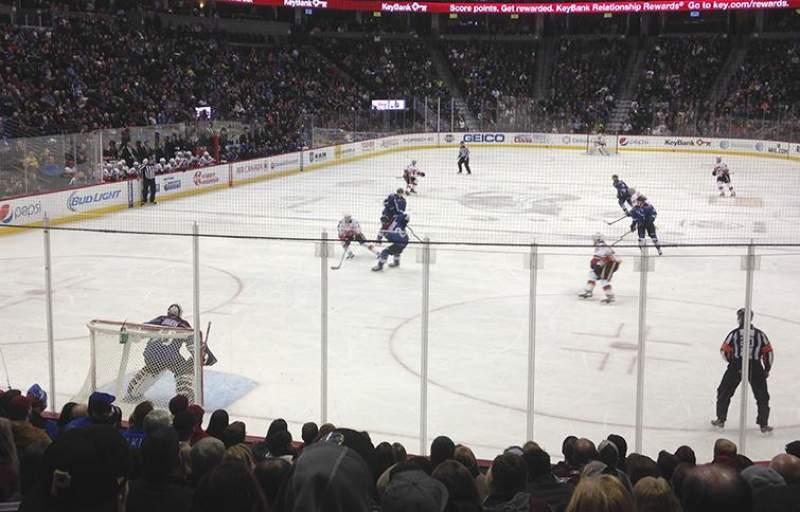 Pepsi Center, section: 134, row: 13, seat: 10