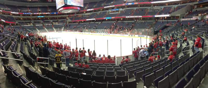 Seating view for Verizon Center Section 115 Row J Seat 11