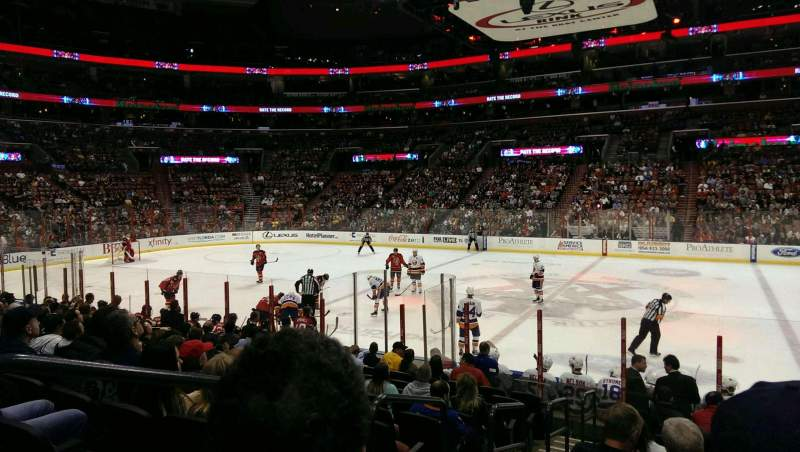 Seating view for BB&T Center Section 134 Row 13 Seat 13-14