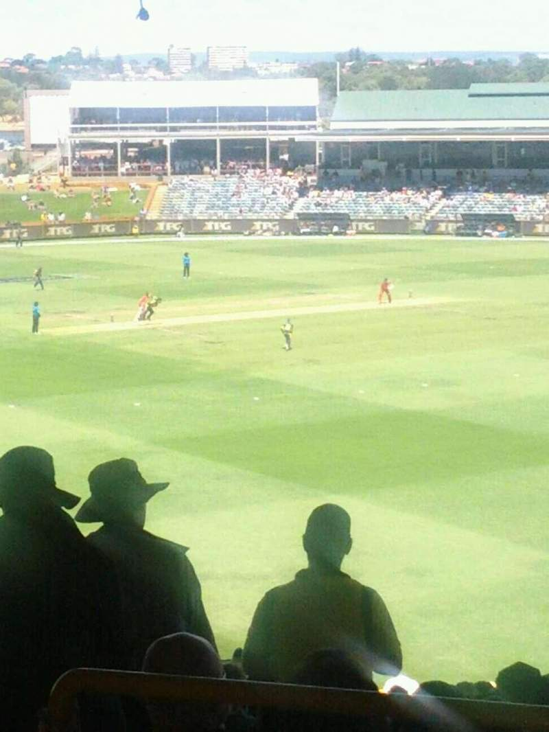 Seating view for WACA Ground