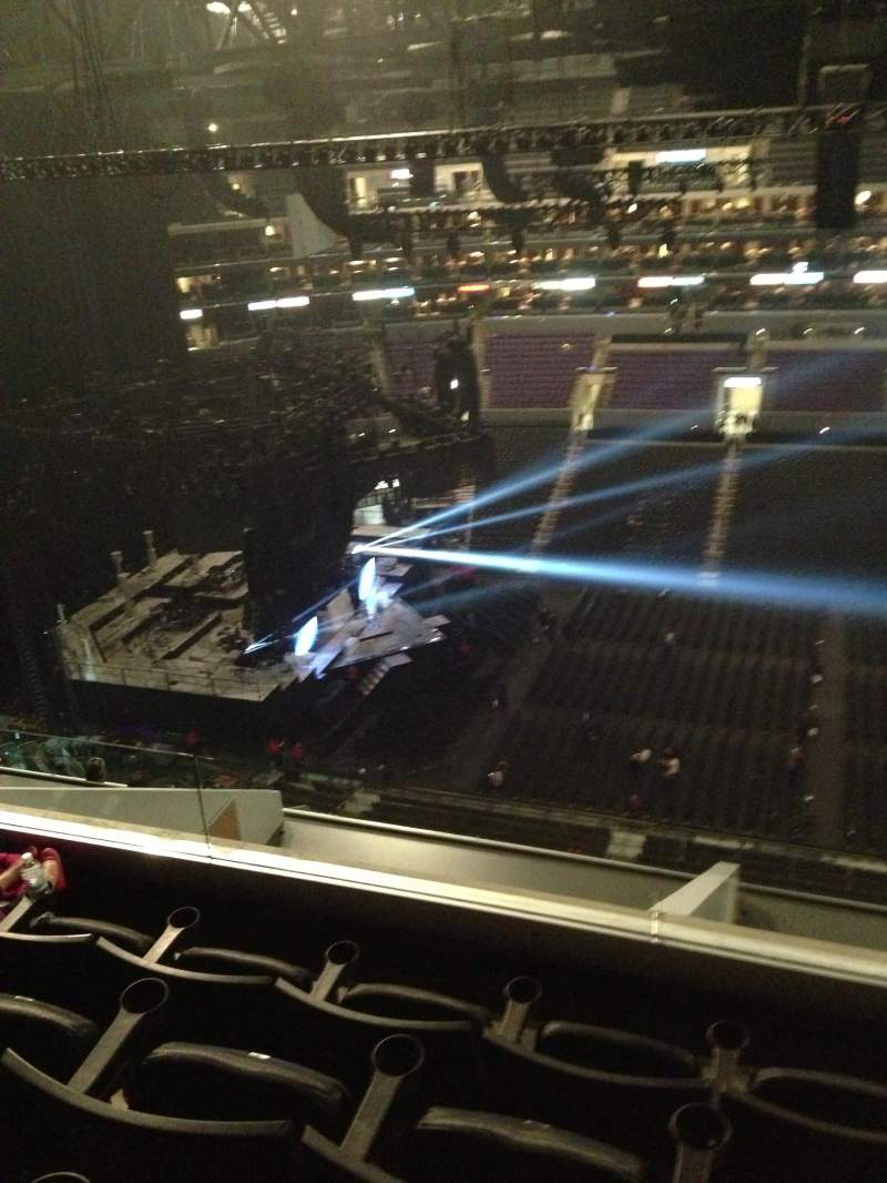 Seating view for Staples Center Section 318 Row 10 Seat 15