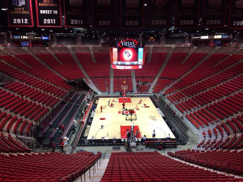 Seating view for Viejas Arena Section A Row 35 Seat 14