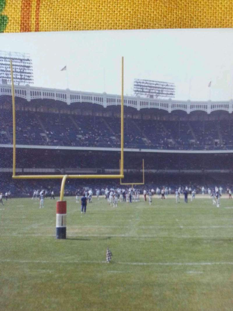Seating view for Old Yankee Stadium Section 41 Row a Seat 1