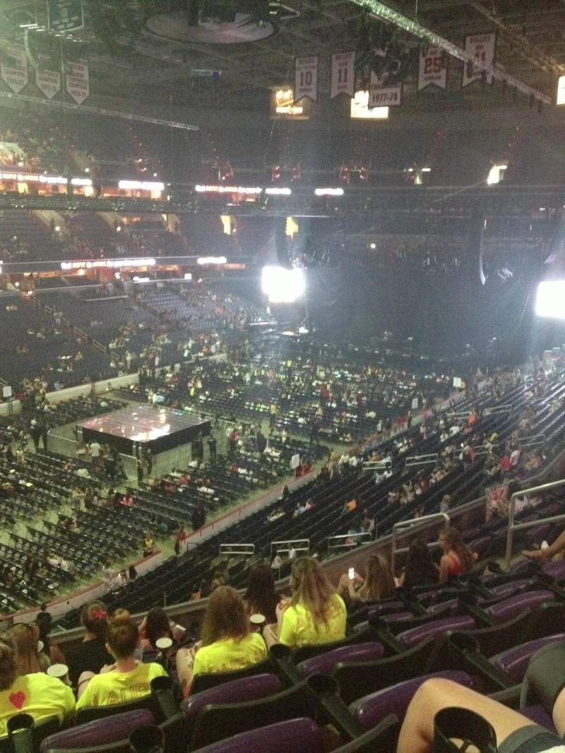 Seating view for Capital One Arena Section 211 Row J Seat 3