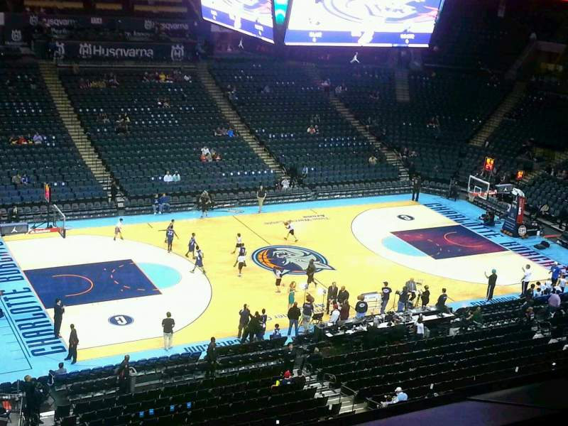 Seating view for Spectrum Center Section 211