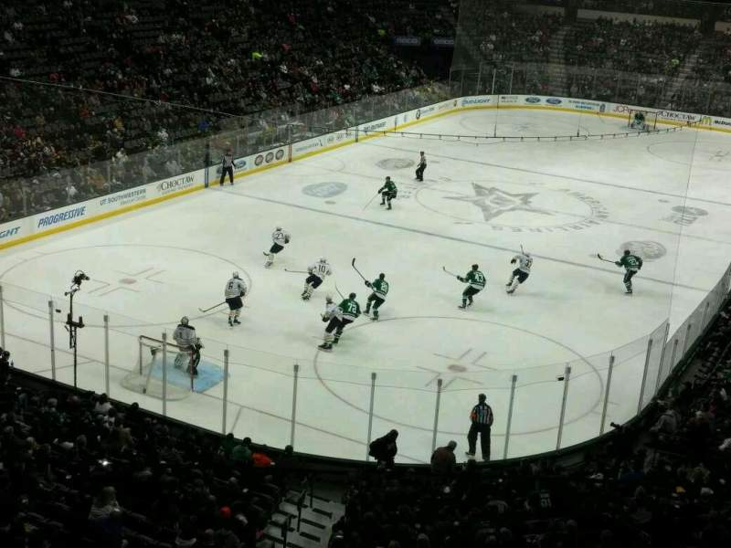 Seating view for American Airlines Center Section 224 Row B Seat 3