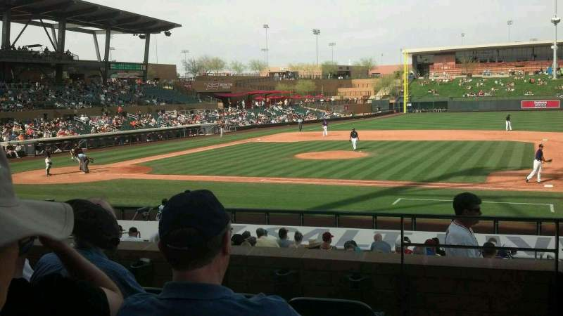 Seating view for Salt River Fields Section 207 Row 5 Seat 2