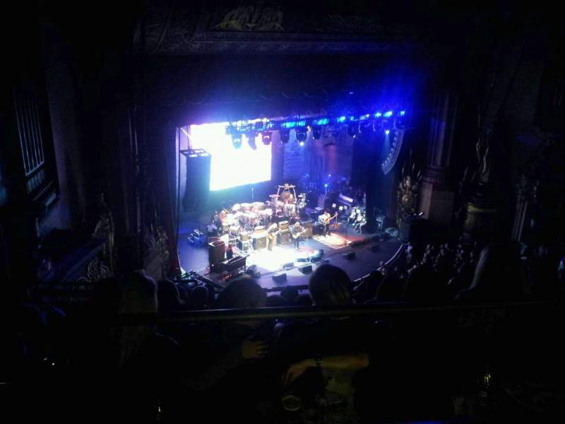 Seating view for Beacon Theatre Section BALC LFT Row F Seat 45