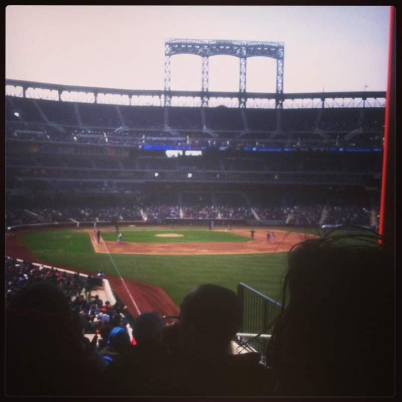 Seating view for Citi Field Section 104 Row 34 Seat 15