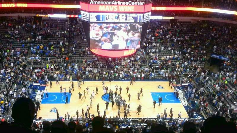 American Airlines Center Section 326 Row S Seat 15