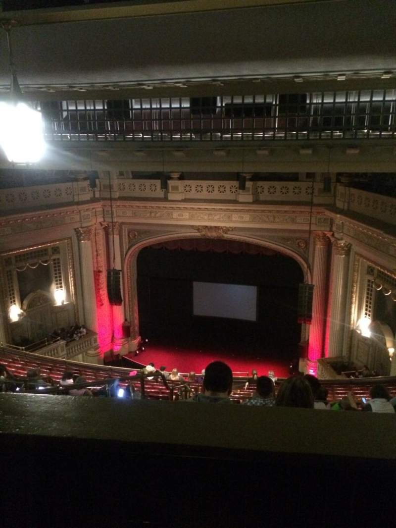 Seating view for Majestic Theatre - Dallas Section F-balc Row Q Seat 5