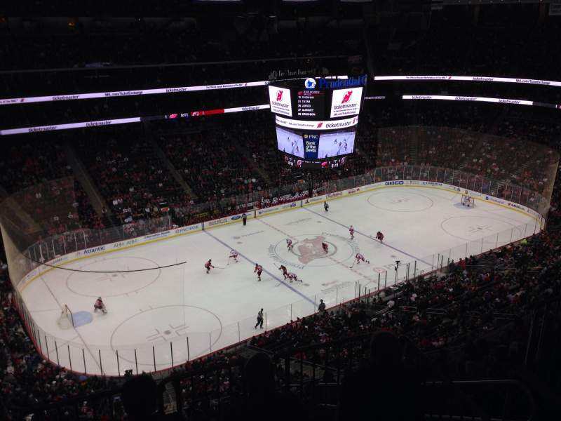 Seating view for Prudential Center Section 226 Row 2 Seat 16