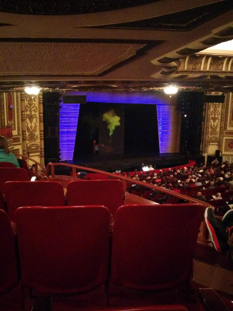 Seating view for Cadillac Palace Theater
