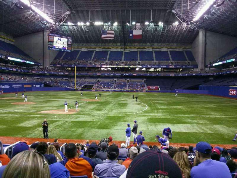 Seating view for Alamodome Section 144 Row 11 Seat 17