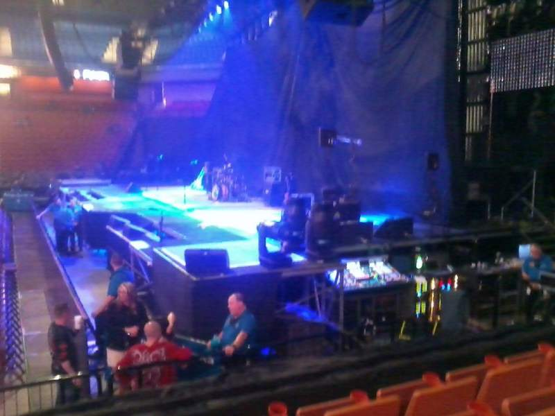 Seating view for Mohegan Sun Arena Section 14 Row J Seat 14