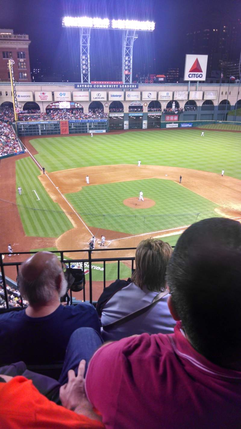 Seating view for Minute Maid Park Section 321 Row 3 Seat 12