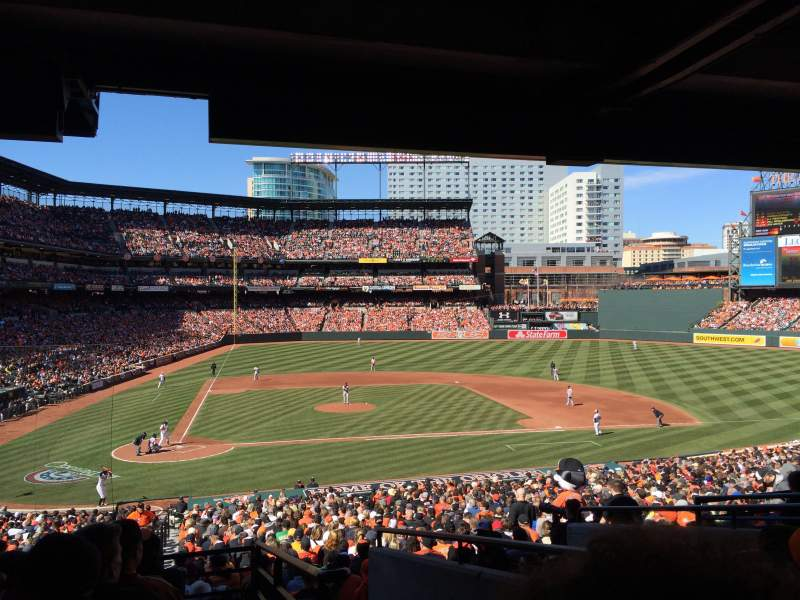 Seating view for Oriole Park at Camden Yards Section 27 Row 8 Seat 8