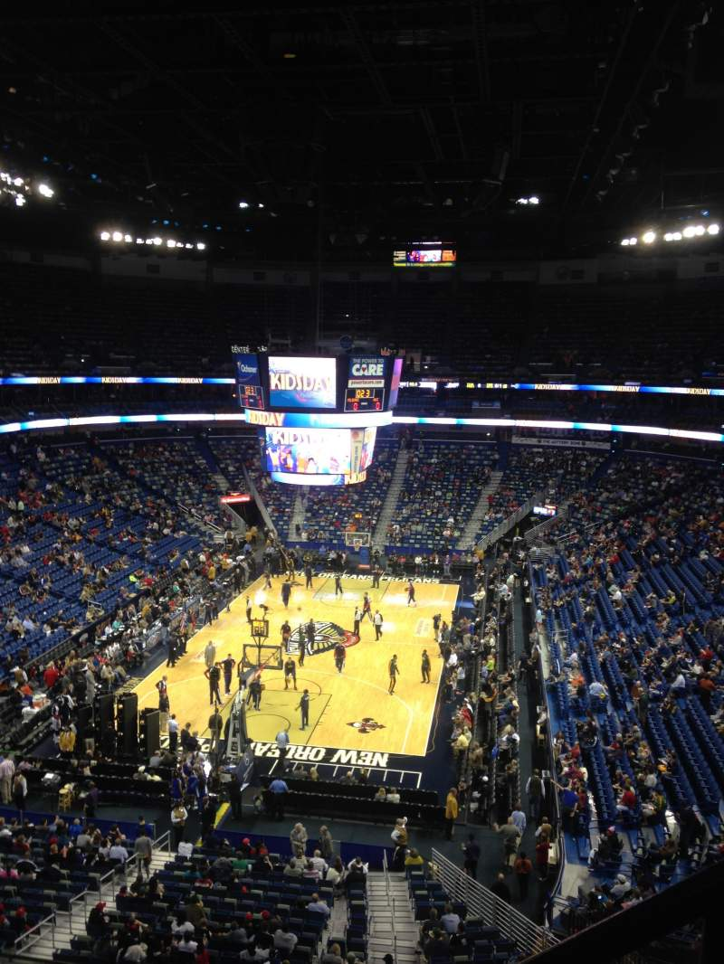 Seating view for Smoothie King Center Section 307 Row 2 Seat 1,2