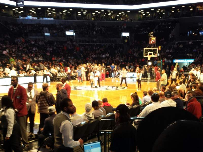 Seating view for Barclays Center Section 29 Row 4 Seat 2