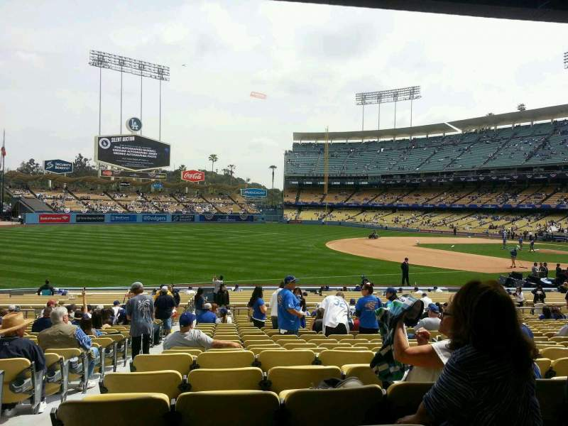 Seating view for Dodger Stadium Section 37fd Row v Seat 7