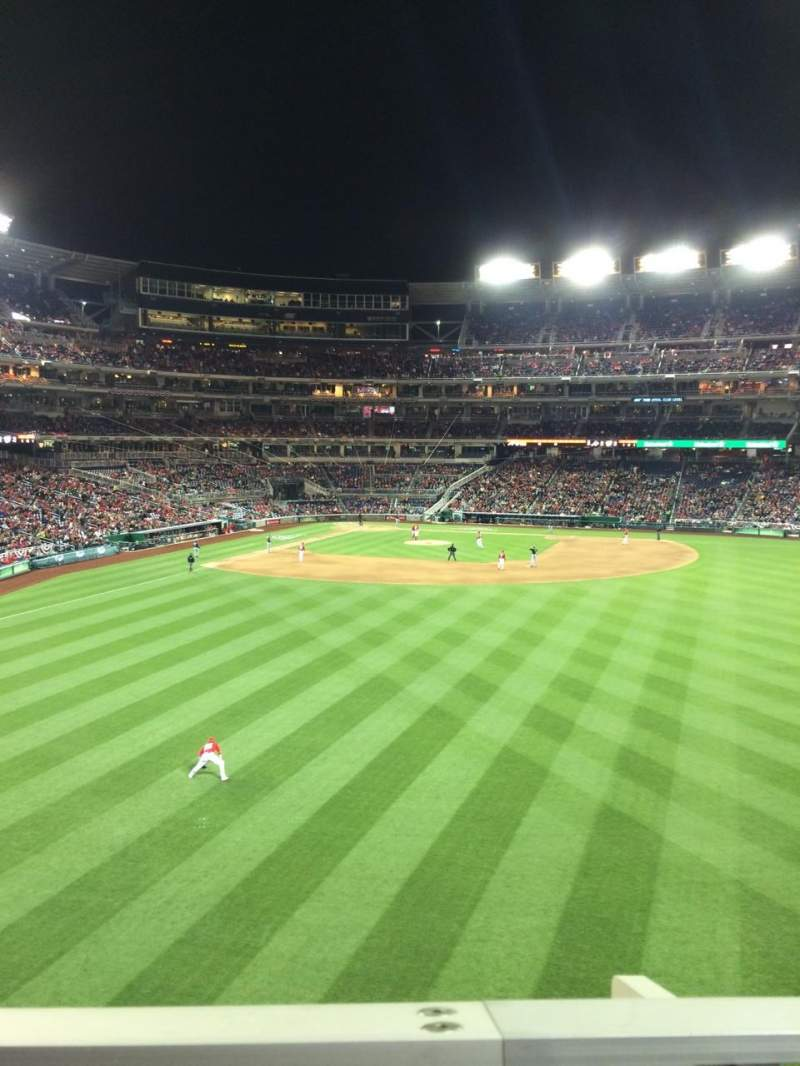 Seating view for Nationals Park Section 241 Row A Seat 24
