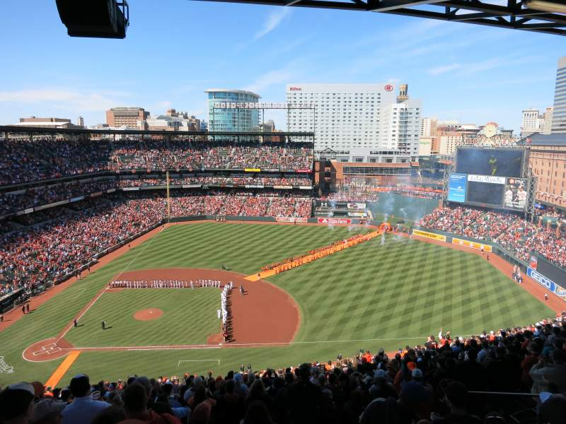 Seating view for Oriole Park at Camden Yards Section 322 Row 25 Seat 7