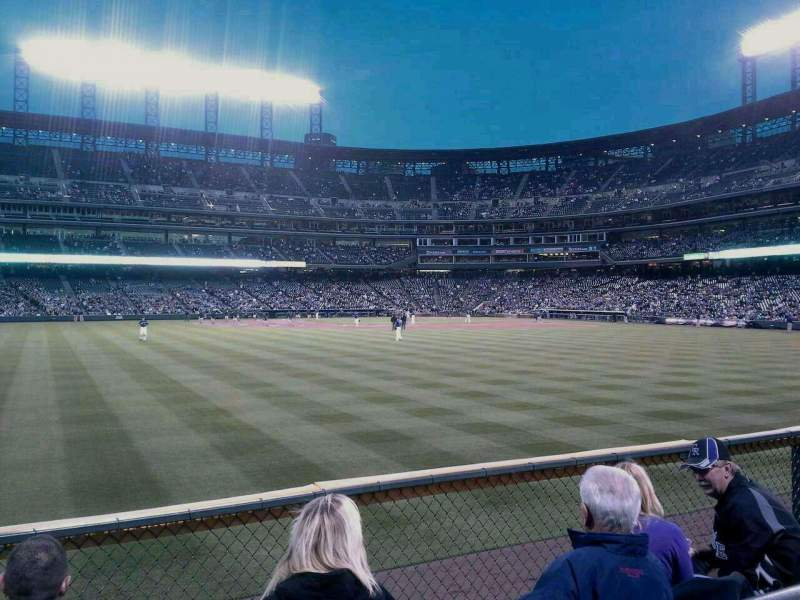 Seating view for Coors Field Section 156 Row 2 Seat 14