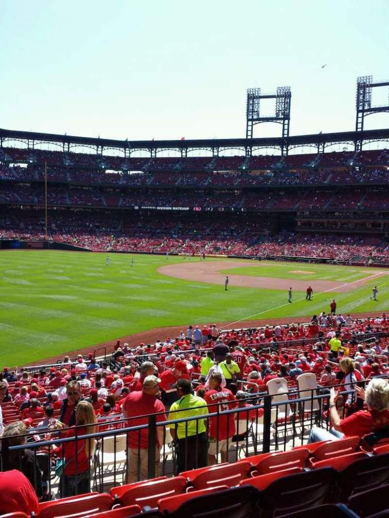 Seating view for Busch Stadium Section 167 Row 24 Seat 15