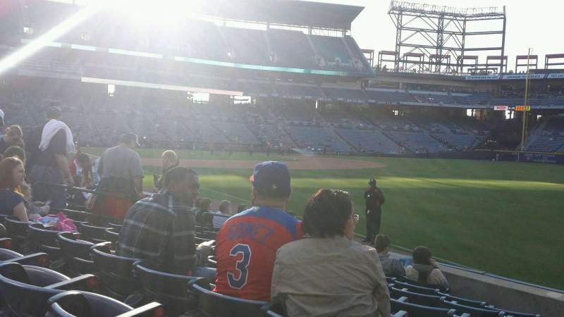 Seating view for Turner Field Section 123R Row 11 Seat 13