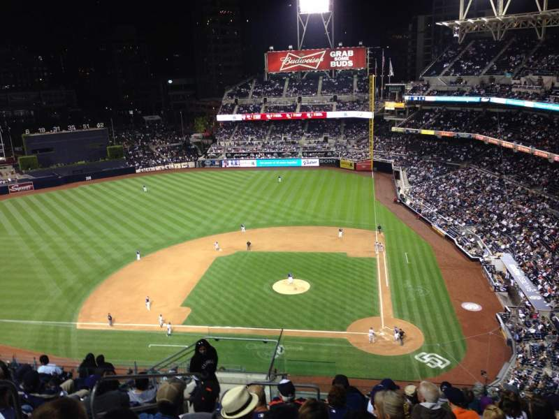 Seating view for PETCO Park Section 308 Row 17 Seat 14
