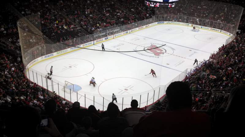 Seating view for Prudential Center Section 106 Row 7 Seat 6
