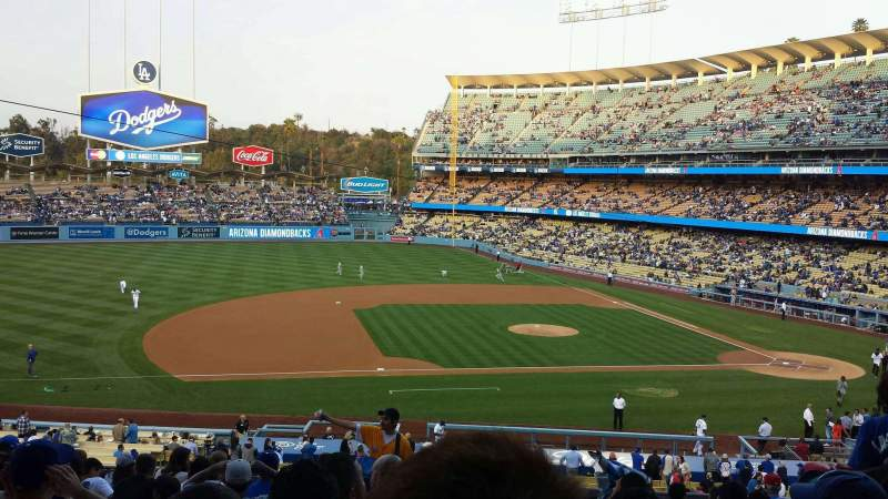 Seating view for Dodger Stadium Section 133LG Row N Seat 7