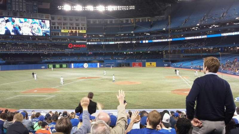 Seating view for Rogers Centre Section 125R Row 24 Seat 3