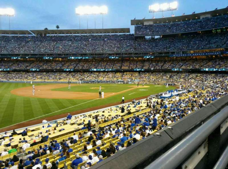 Seating view for Dodger Stadium Section 157LG Row A Seat 4