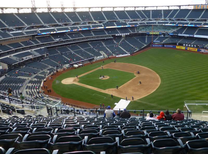 Seating view for Citi Field Section 504 Row 12 Seat 18