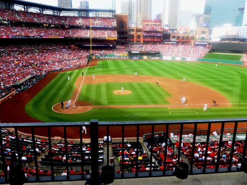 Seating view for Busch Stadium Section 246 Row 2 Seat 13