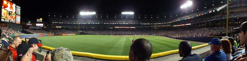 Seating view for Turner Field Section 138R Row 14 Seat 5
